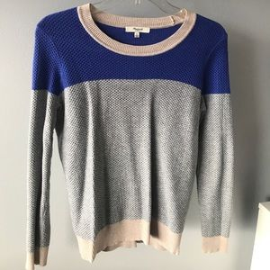 Color Block Madewell sweater