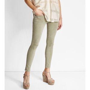 { current/elliott} NWOT stiletto jean moss green