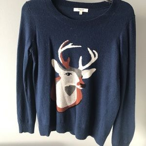 Blue Madewell sweater