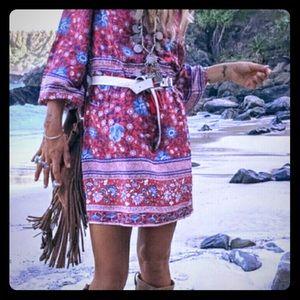 Spell & The Gypsy Wine Folktown Playdress XS NWOT