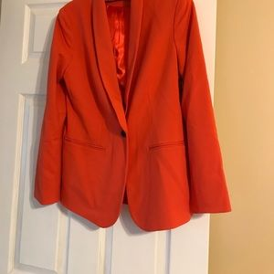 NWT 4-6 Orange Coldwater Creek Blazer
