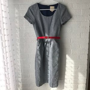 Mod cloth fit and flare dress