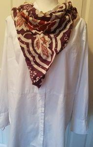 Tops - 🚨On Sale Women's White Cotton Button down Shirt
