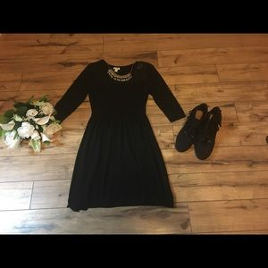 Old Navy sweater dress black