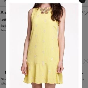 Anthropologie Citrus Dress - size 4
