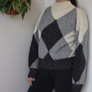 Vintage Mock Neck Sweater