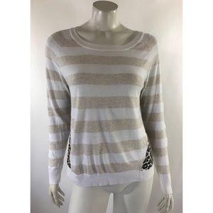 Charlotte Tarantola Anthropologie Sweater M White