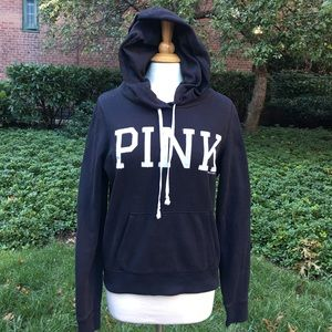PINK Victoria's Secret Black Hoodie