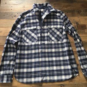J. Crew flannel top