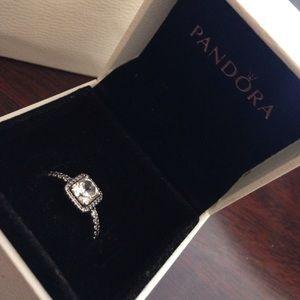 Pandora Ring Timeless Elegance Clear