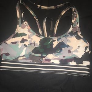 Graphic Sports Bra