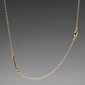 Gold gorjana Eros necklace