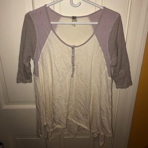 FREE PEOPLE - Slouchy Shirt - Super Comfy - Medium
