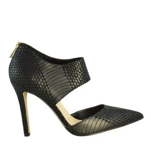Jessica Simpson Snakeskin Coswell Heels