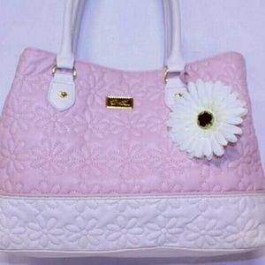 Beautiful Betsey Johnson large carryall bag