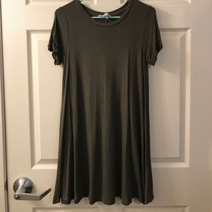 Olive forever 21 casual dress