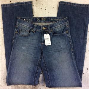 Anthropologie DL1961 the Samantha boyfriend jeans