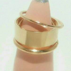 Gold Midi Ring Set