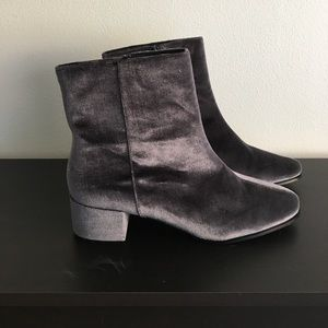 Chinese Laundry Velvet Booties