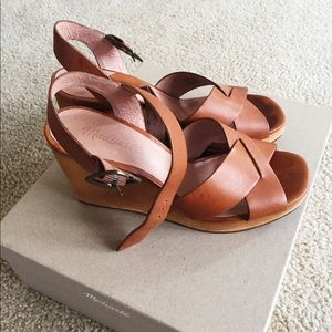 Madewell: Wedge Sandals
