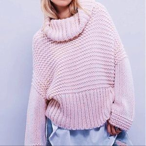 Sweaters - NWT Chunky Oversized Cowl Neck Sweater