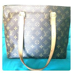 Louis Vuitton Monogram canvas cabas Piano(USED)