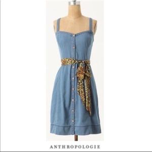 ANTHROPOLOGIE Pilcro and the Letterpress Dress - 6