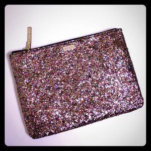 Kate Spade Multi-Colored Glitter Clutch