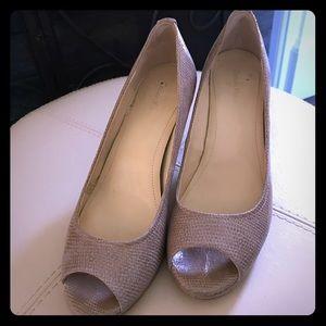 Calvin Klein Peep Toe Pumps