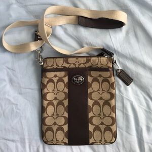 Authentic Coach crossbody