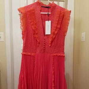 Karen Millen Coral Dress NEW