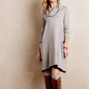 Anthro Sparrow Cowl Neck Cowled Swing Dress