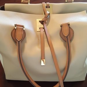 Michael kors Large Miranda Tote in Natural