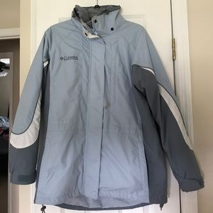 Columbia - winter jacket. Has the fleece inside