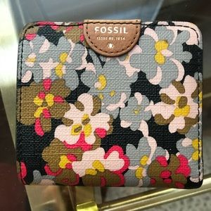 Fossil Emma Floral Small Wallet