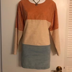 """""""KAY SILVER"""" BUTTERY SOFT LONG SLEEVED TUNIC TOP"""