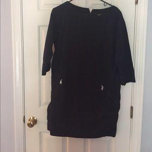 Navy quilt dress GAP