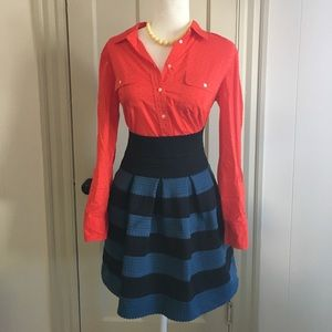 "Anthropologie ""girls from savory"" skirt, small"