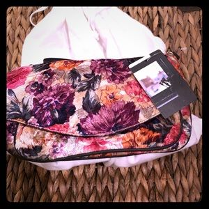 New crossbody purse soft floral material