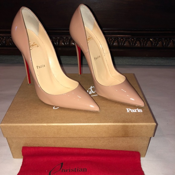 christian louboutin so kate size 7.5