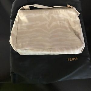 Fendi Whit Small Evening Bag