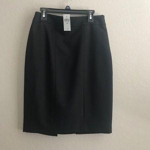 NWT Ann Taylor black pencil skirt