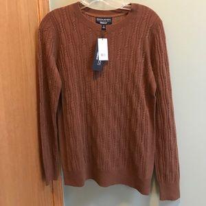 NWT Extra Fine Italian Wool Sweater