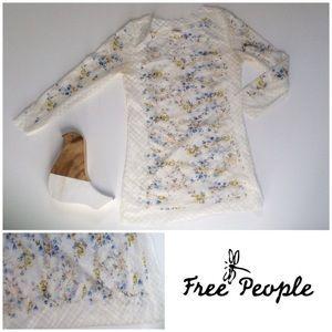Intimately Free People Lace Long Sleeve Shirt