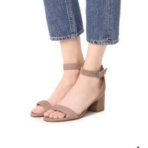 Madewell Alice Sandal in Suede - size 6
