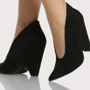 Black Wedge Shoe