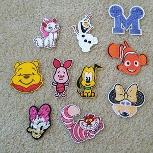 Patches Iron on Disney - frozen nemo Minnie Winnie