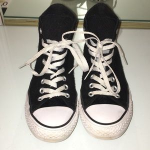 Limited Edition Black Converse