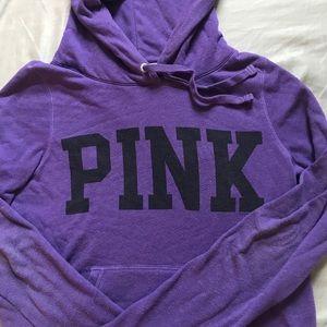 Purple VS Pink hooded sweatshirt