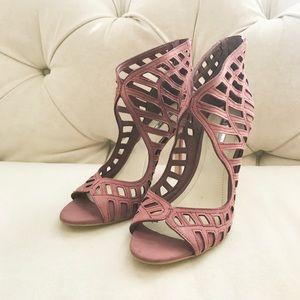 BCBG Blush Heels Size 7